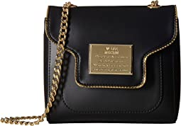 LOVE Moschino - Plaque Flap Crossbody