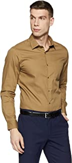 Diverse Men's Plain Regular Fit Cotton Formal Shirt
