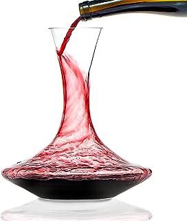 Wine Enthusiast Lead-Free Crystal Vivid Wine Decanter 750 ML