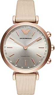 Emporio Armani Women's ART3020 Smart Digital Beige Watch
