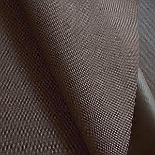 TOLKO wasserfest beschichteter Nylon Stoff | Fester Segeltuch Planenstoff als Nylonplane für Aussenbereich | Reißfest und Langlebig | Meterware 150cm breit Schwerer Outdoorstoff Braun