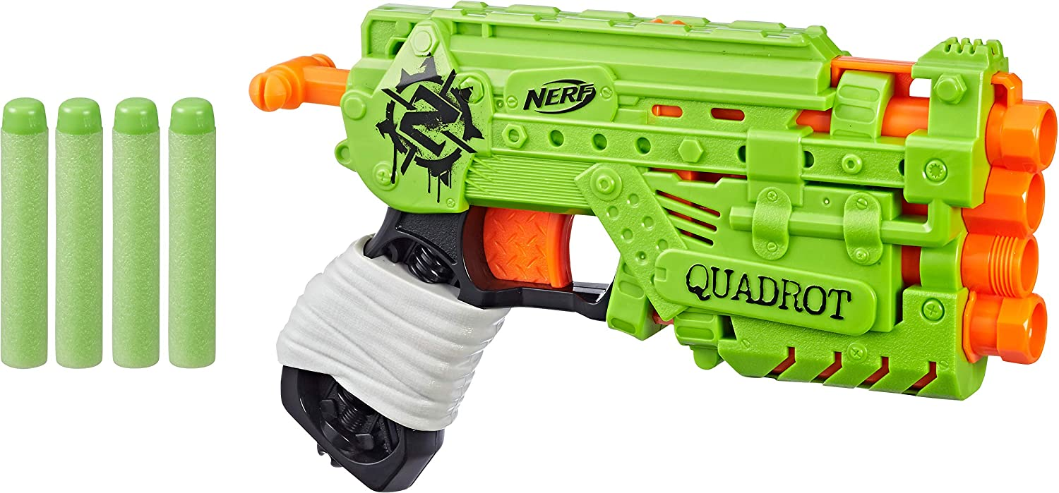 NERF Zombie Manufacturer regenerated product Strike Quadrot Dealing full price reduction Toy
