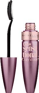 Maybelline New York Lash Sensational Curvitude Washable Mascara, Blackest Black, 0.33 fl. oz.