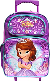 Best princess sofia rolling backpack Reviews