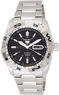Seiko - SNZJ05K1 - Reloj de Caballero Movimiento automático con Brazalete metálico