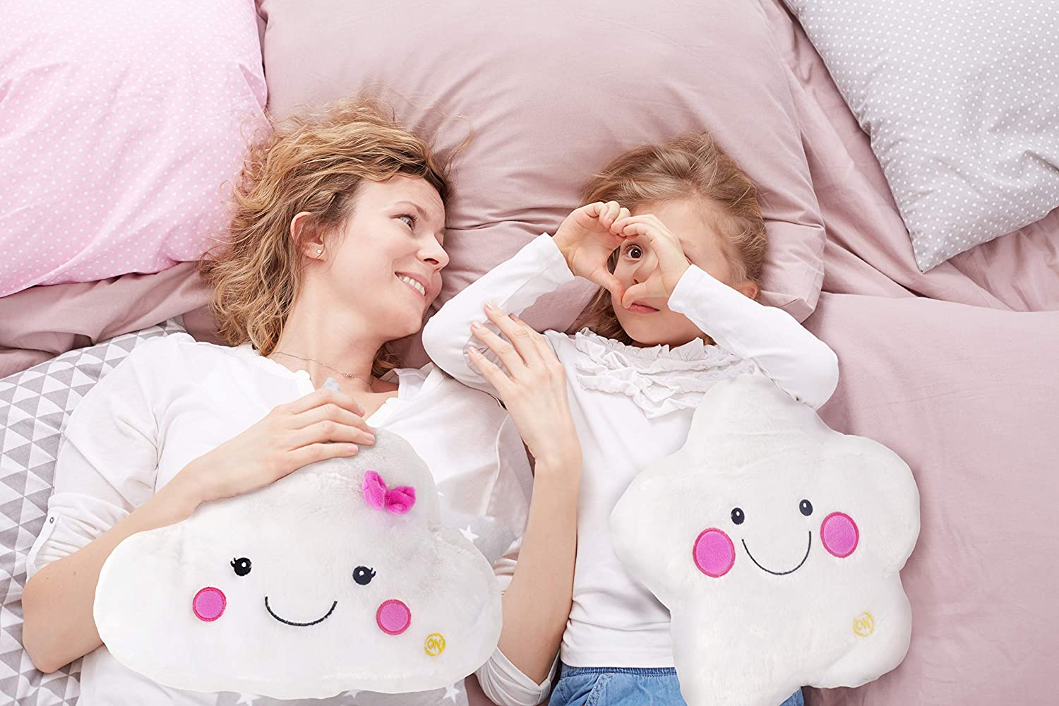 12 Star Light Up Pals Pillow Plush W//Night Light/_/_Gift Box Included Linzy Toys 60098