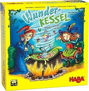 HABA 305216 - Wunderkessel, Memo-Laufspiel für 2-4 Spieler