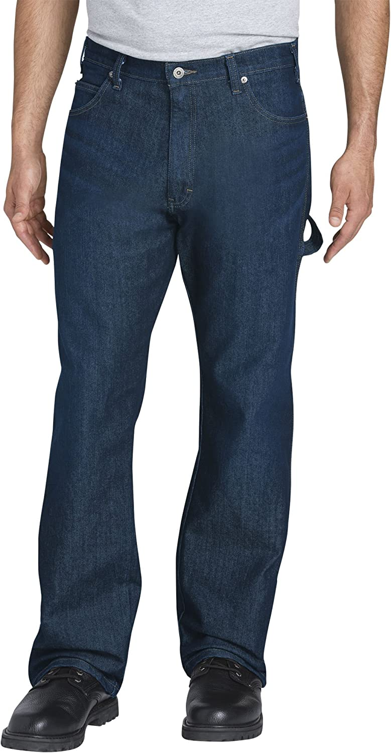 Under blast sales Dickies Men's Relaxed Fit Carpenter Selling and selling Performance Five-Pocket Flex