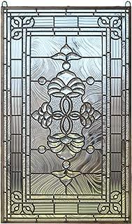 beveled glass window hangings