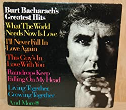 Burt Bacharach's Greatest Hits [VINYL LP] [STEREO]