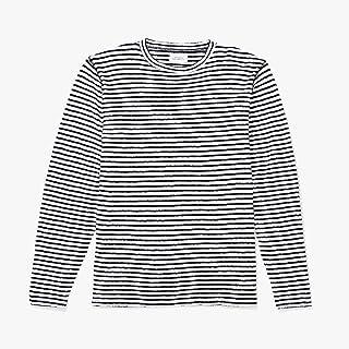 Saturdays Surf NYC Alek Stripe Long Sleeve T‑Shirt サタデーズサーフ ロングスリーブTシャツ ロンT 長袖 ニット ボーダー ホワイト/ブラック Mサイズ