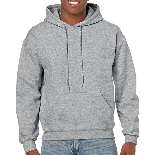 Men's Grey Hoodie: