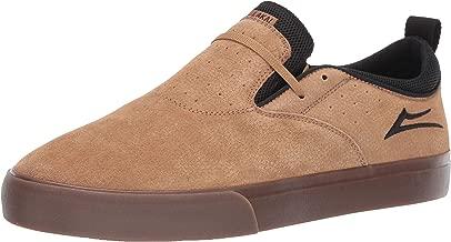 Lakai Footwear Riley 2 Tobacco Syn. Nubucksize Tennis Shoe, Tobacco Synthetic Nubuck