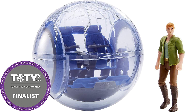 Mattel FMM50 - Jurassic World Gyrosphere und Claire Story Pack