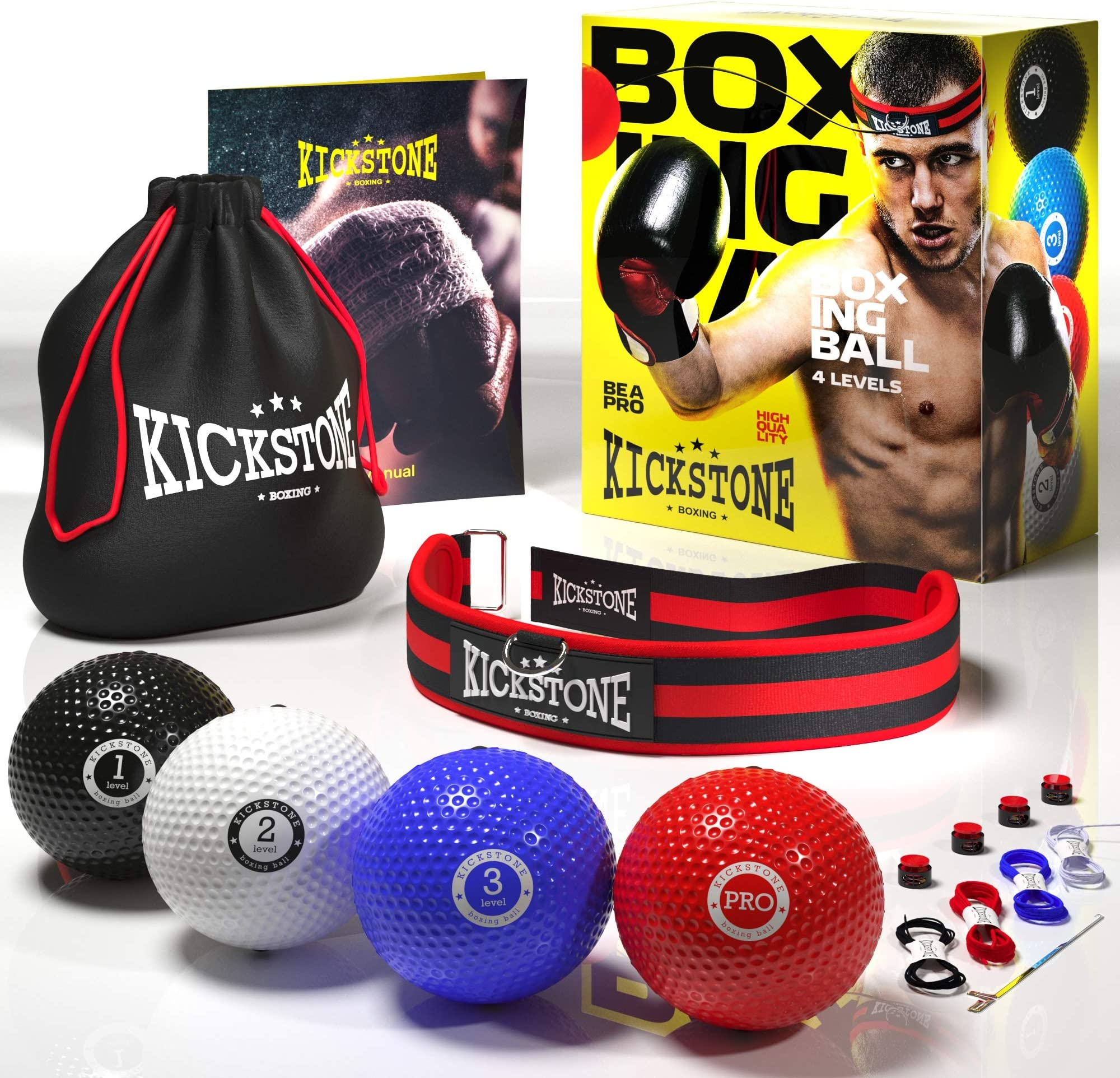 Fight Ball with Head Band for Speed Training Boxing Punch Fitness Equipment