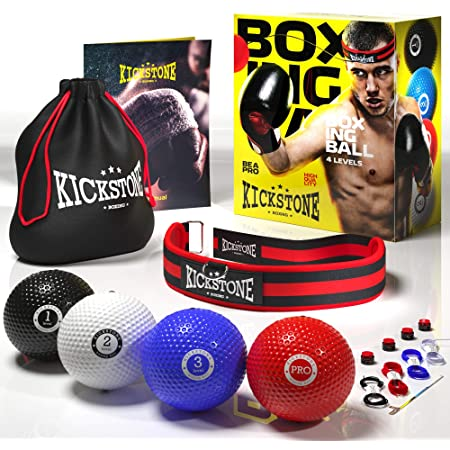Fight Ball Reflex Boxing REACT Training Boxer Speed Punch Head Cap String BaGG