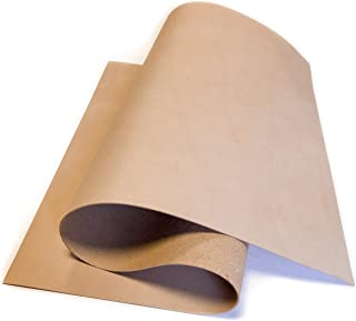 Genuine Veg Tanned Calf Hide: 1 Leather sheeth (18x24In/ 45x60cm)