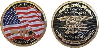 Challenge Coin Operation Neptune Spear Navy Seal (bin Laden E-KIA)