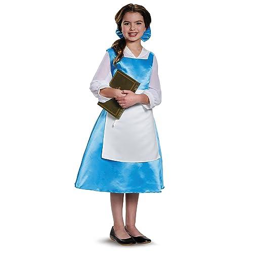 76efd7e8ba15 Belle Blue Dress Tween Disney Princess Beauty   The Beast Costume