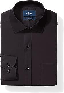 Amazon Brand - BUTTONED DOWN Men's Tailored Fit Stretch Poplin Dress Shirt, Supima Cotton Non-Iron, Spread-Collar