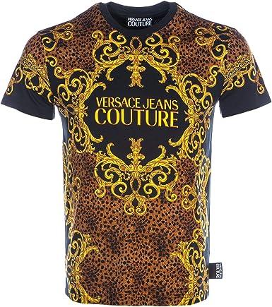 Versace Man T-Shirt Camiseta de Tirantes para Hombre