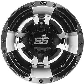 ITP SS112 Sport ATV Wheel 10x5 Machined W/Black (1028336404B)