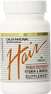 California Natural Hair Supplement, 30 Count
