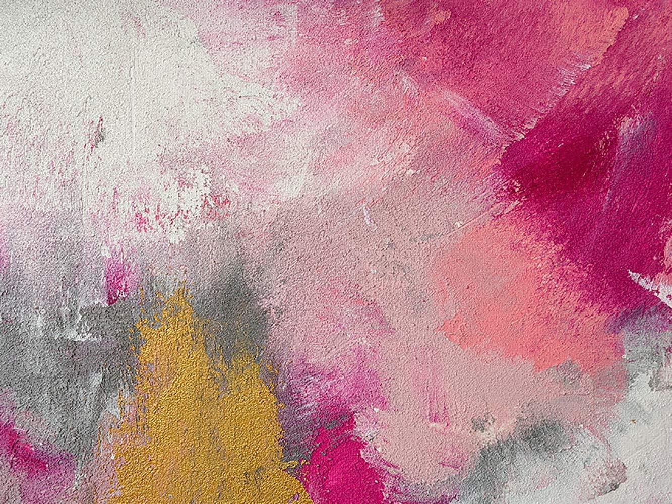 Popularity Buyartforless CAN GG012 12x16 GW Wall Free Shipping New Canvas Pink Art