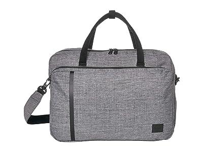 Herschel Supply Co. Gibson Large (Raven Crosshatch) Tote Handbags