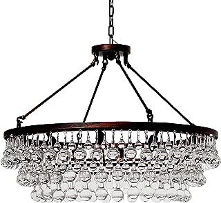 Best celeste glass drop chandelier Reviews