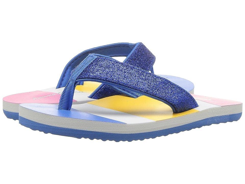 Hanna Andersson Glitter (Toddler/Little Kid/Big Kid) (Swedish Sky) Girls Shoes