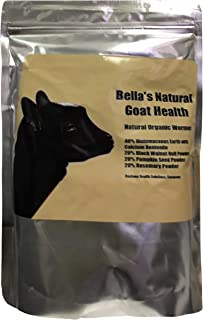 Bella's Natural Health Organic Dewormer 1 Pound 453.592 Grams