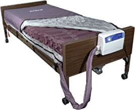 Drive Medical Med Aire Low Air Loss Mattress Replacement System with Alternating Pressure, Dark Purple, 8