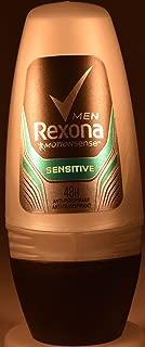 Rexona Roll Men Anti-Perspirant -Anti-Transpirant 48H 50Ml/1.69Oz (6X50Ml/1.69OZ, Sensitive)