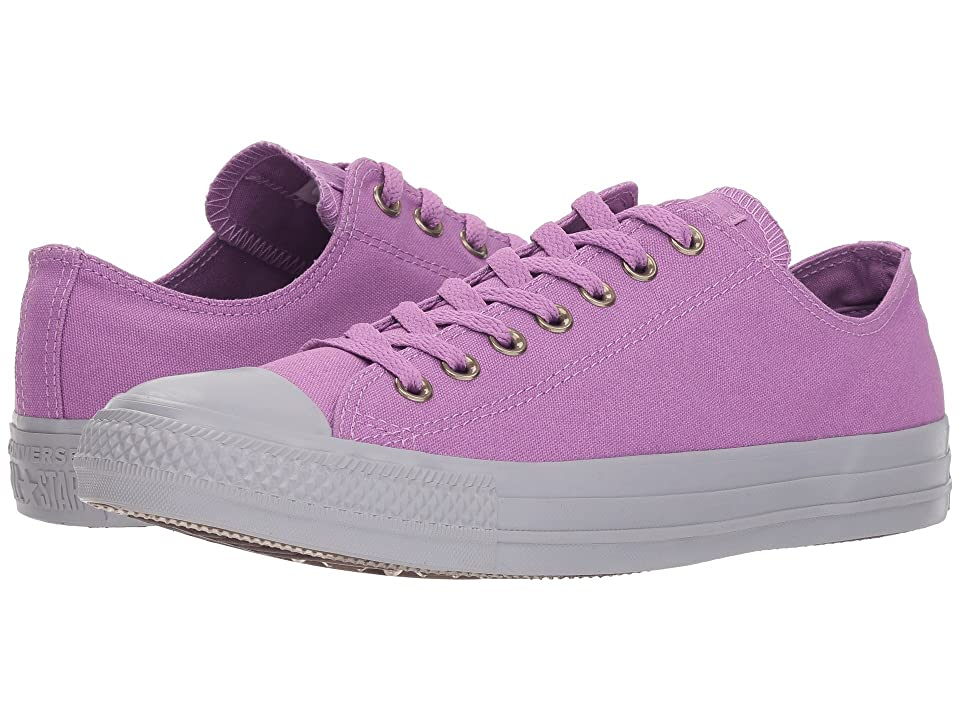 Converse Chuck Taylor All Star Botanical Neutrals Ox (Dark Orchid/Dark Orchid/Provence Purple) Lace up casual Shoes