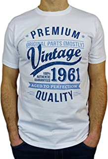 1961 Vintage Year - Aged to Perfection - 60th Birthday Gift/Present Mens T-Shirt