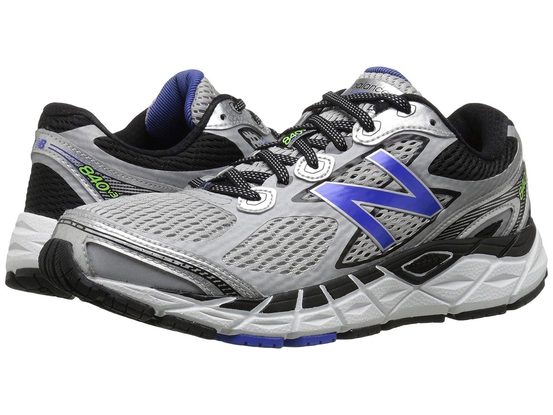 (ニューバランス) New Balance メンズランニングシューズ?スニーカー?靴 840v3 Silver/Blue 9.5 (27.5cm) EE - Wide