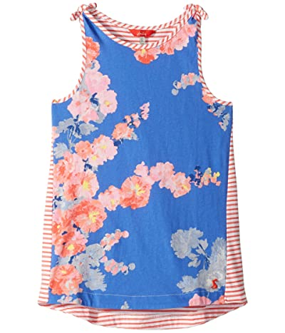 Joules Kids Iris Tank Top (Toddler/Little Kids/Big Kids) (Blue Floral) Girl