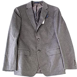 Ryan Seacrest Mens Suit Separate One Button Notch Collar Gray 42