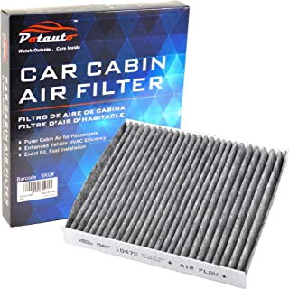 POTAUTO MAP 1047C (CF8249A) Replacement Activated Carbon Car Cabin Air Filter for HONDA, CR-V, INSIGHT, LEXUS,GS F, GS TURBO, GS200T, GS350, GS450H, IS TURBO, IS200T, IS300, IS350, RC F, RC TURBO, RC
