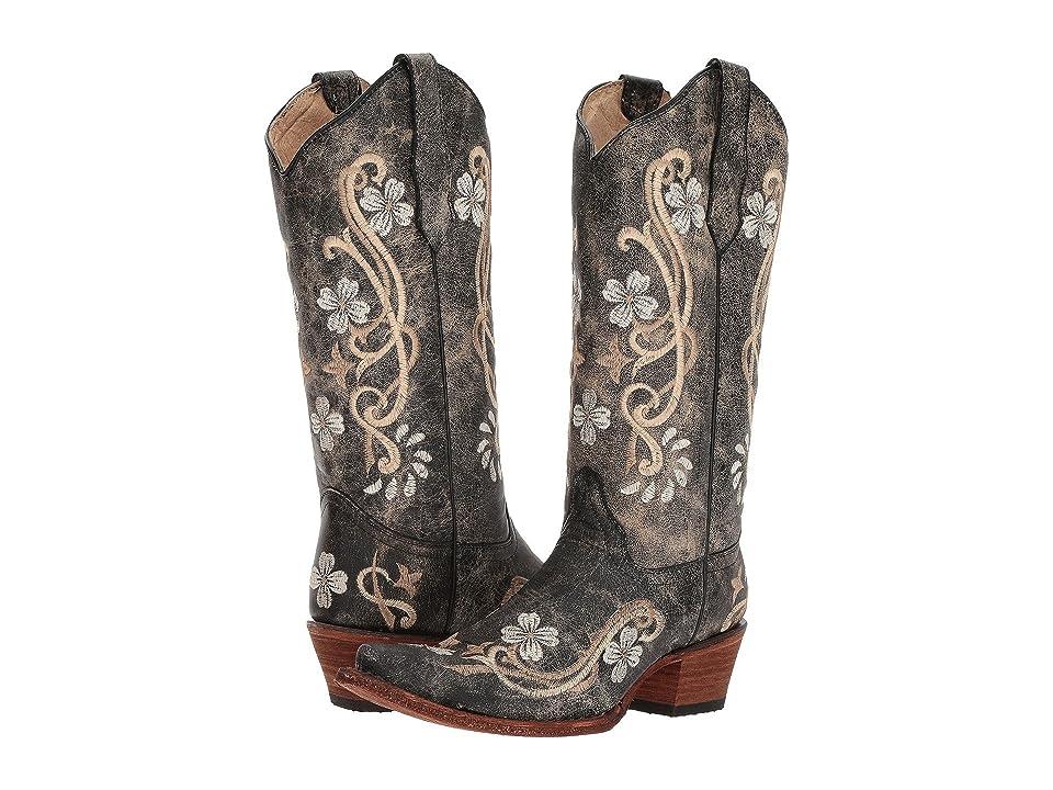 Corral Boots L5175 (Black/Multi) Cowboy Boots