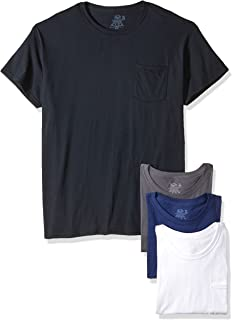 Best mens t shirt with different color pocket Reviews