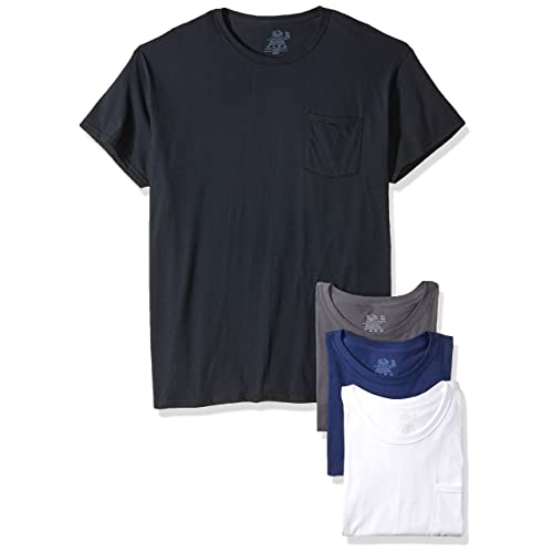 0b83f4c48 Fruit of the Loom Men's Pocket T-Shirt Multipack