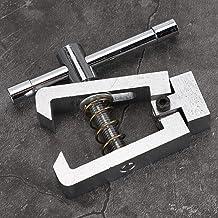 Braçadeira de medidor de tensão de impulso, acessório de força push-pull, acessório de micrômetro de aço inoxidável 500N d...