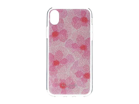 Kate Spade New York Glitter Abstract Peony Phone Case for iPhone XR