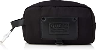 Guess CERTOSA Utility Case, Backpack Hombre, Black, One Size