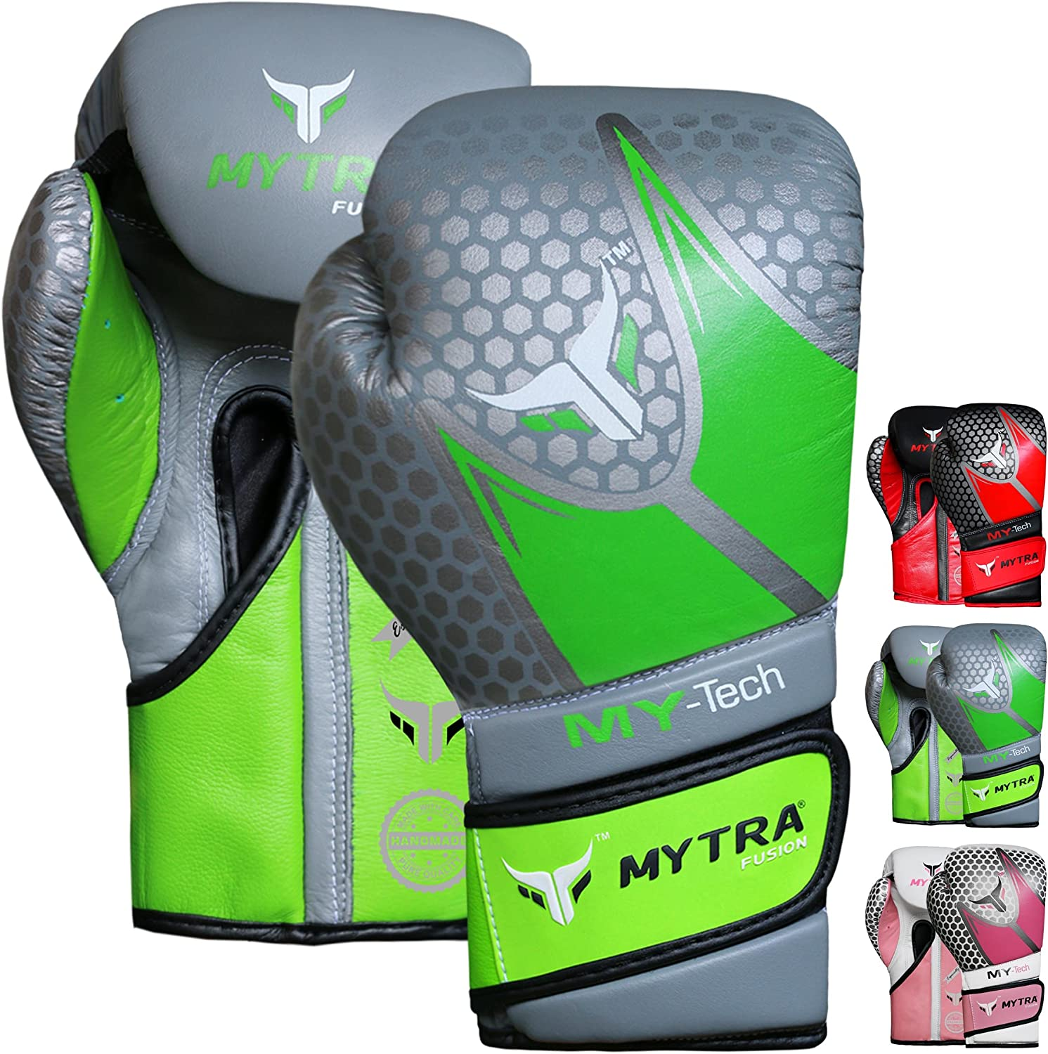 Mytra Fusion My-TECH Boxing Portland Mall Gloves Japan's largest assortment Real 1 Leather 14oz 12oz 10oz