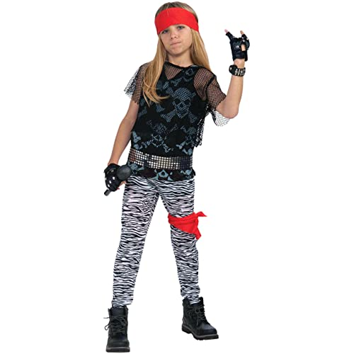 c004f07afff5e Forum Novelties 80's Rock Star Child Boy's Costume, ...