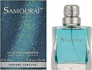 Samourai Cologne by Alain Delon for Men. Eau De Toilette Spray 1.7 Oz / 50 Ml