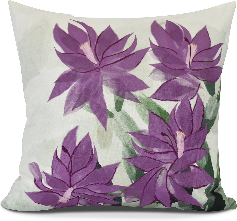 E by design Pillow, O5PHF974PK10-18, Purple, 18
